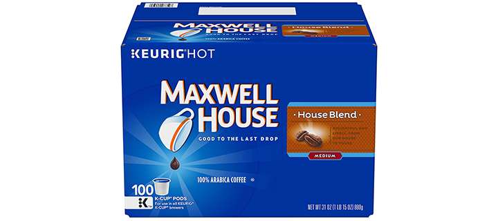 Maxwell House House Blend Coffee K-Cup Pods