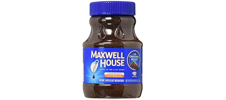 Maxwell House Original Medium Roast Instant Coffee