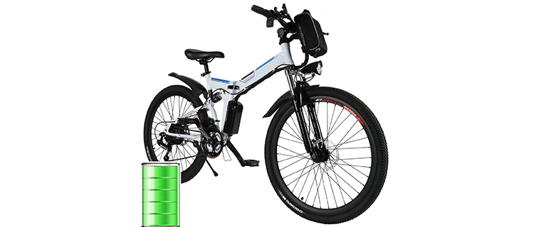 Miageek Folding E-Bike 26-Inch