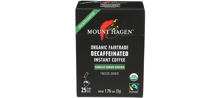 Mount Hagen Organic Instant Decaffeinated Coffee