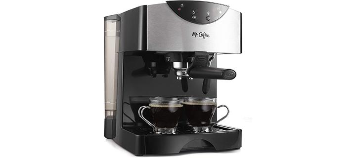 Mr Coffee Automatic Dual Shot Espresso Cappuccino System