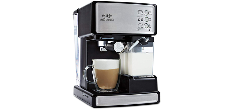 Mr Coffee Espresso and Cappuccino Maker