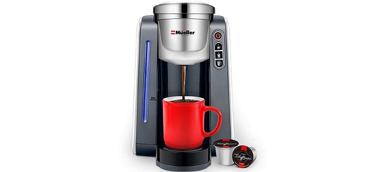 Mueller Ultima Single Serve Pod Compatible Coffee Maker