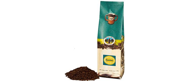 Mystic Monk Coffee Hazelnut Flavored Ground Coffee