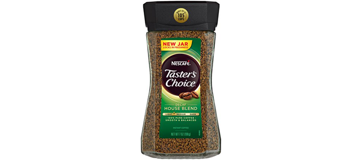 Nescafé Taster's Choice Decaf House Blend Instant Coffee