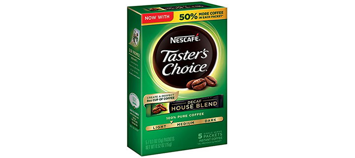 Nescafe Taster's Choice Decaf Instant Coffee