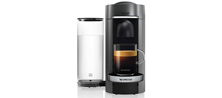 Nespresso ENV155T VertuoPlus Deluxe Coffee and Espresso Machine