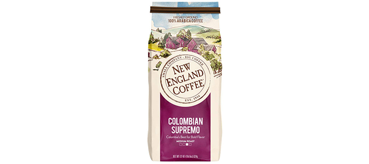 New England Coffee, Colombian Supremo