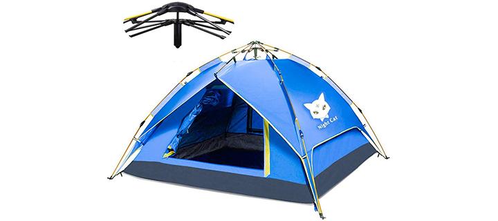 Night Cat Camping Tent