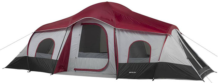 OZARK TRAIL 10 Person XL Family Cabin Tent