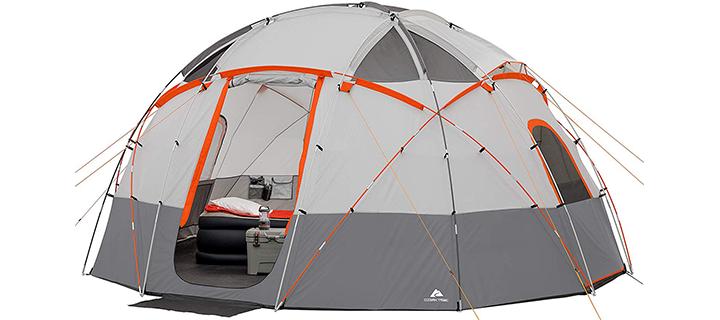 OZARK Trail 12 Person Lit Base Camp