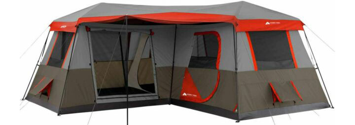 OZARK Trail 3-Room 12 Person Instant Cabin Tent