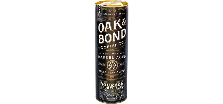Oak & Bond Coffee Co Espresso Bourbon Barrel Aged Coffee