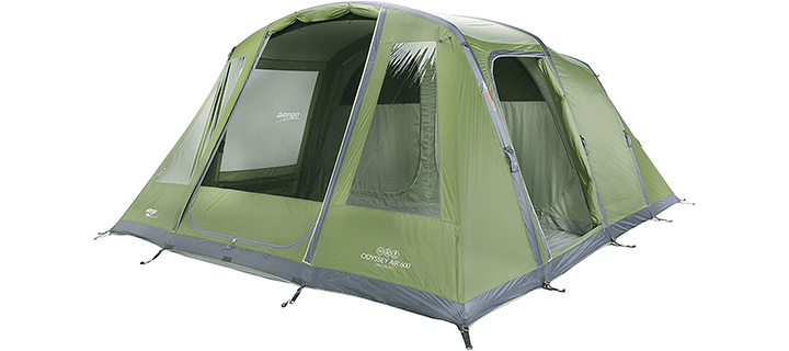 Odyssey Vango Inflatable Tunnel Family Tent