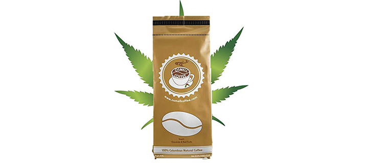 Osmell HEMP Coffee 100% Colombian Coffee Blend
