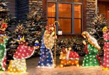 Outdoor Lighted Nativity Scenes