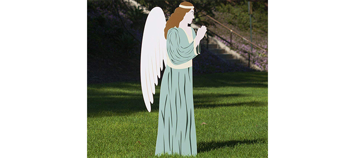 Outdoor Nativity Add-on – Angel