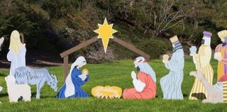 Outdoor Nativity Scene Sets