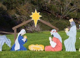 Outdoor Nativity Scene Sets