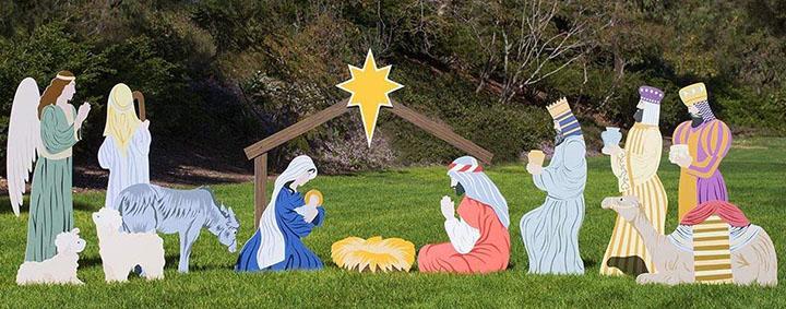 Outdoor Nativity Store Complete Outdoor Nativity Set
