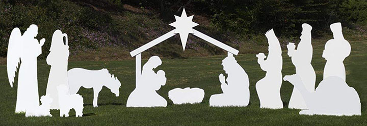 Outdoor Nativity Store Complete Outdoor Nativity Set