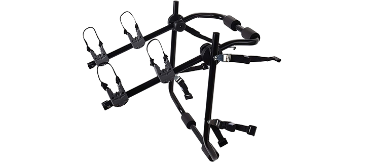 OxGord 2-Bike Rack Trunk Mount – Deluxe Bicycle Carrier
