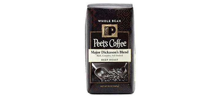 Peet's Coffee Major Dickson's Blend Dark Roast Whole Bean Coffee