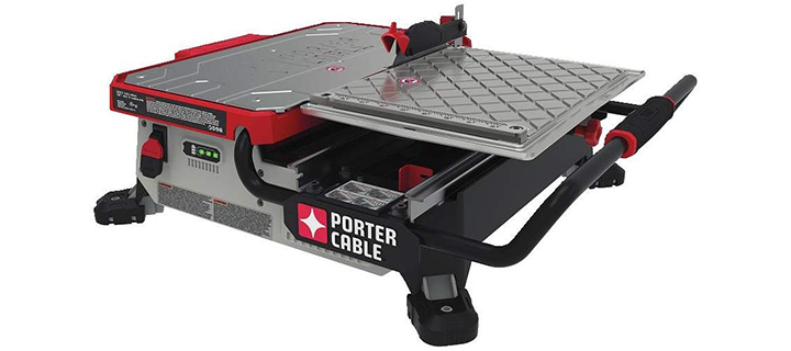 Porter Cable PCC780LA 20V MAX 7″ Sliding Table Top Wet Tile Saw