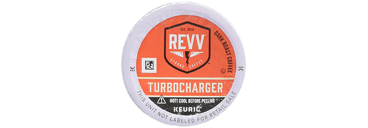 REVV TURBOCHARGER Coffee Keurig K-Cup Pod