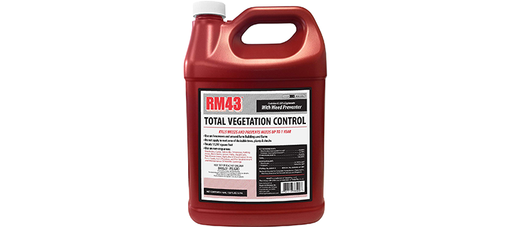 RM43 43-Percent Glyphosate Plus Weed Preventer