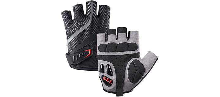 ROTTO Cycling Gloves Half Full Finger Mountain Bike Gloves