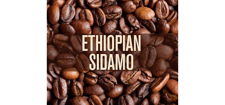 RhoadsRoast Coffees Ethiopian Natural Sidamo Grade 4 Coffee Beans