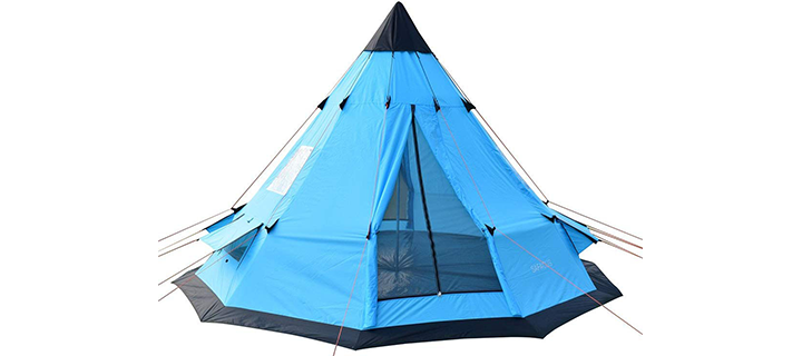 SAFACUS 7 Person Teepee Tent