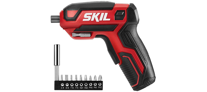 SKIL Rechargeable 4V Cordless Screwdrivers