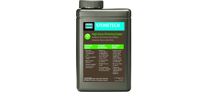 StoneTech High Gloss Finishing Sealer for Natural Stone