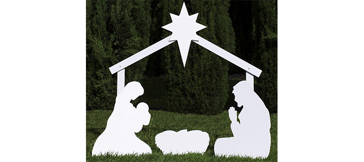 Store Holy Family Outdoor Nativity Set
