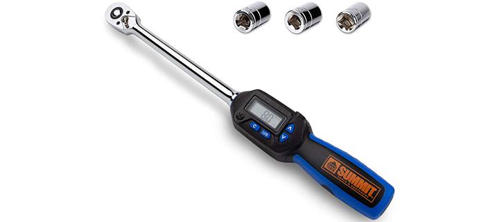 Summit Tools 1 2 inch Digital Torque Wrench
