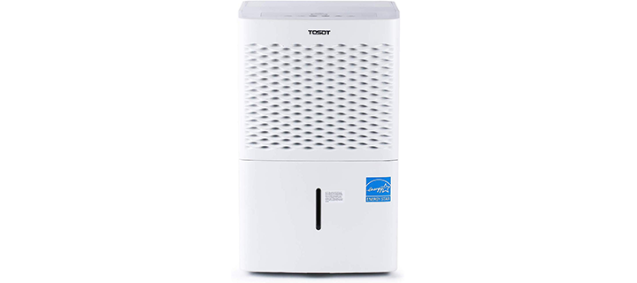 TOSOT Energy Star-Rated Dehumidifier with Pump