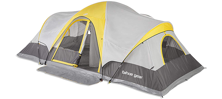 Tahoe Gear Manitoba 14 Person Family Tent
