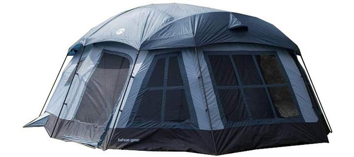 Tahoe Gear Tent-Ozark 3 Season Family Cabin