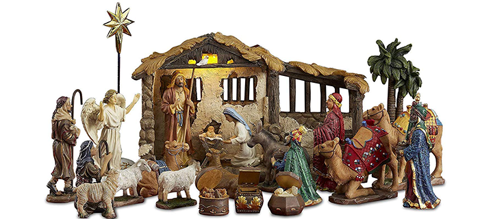 The Real Life Nativity Set