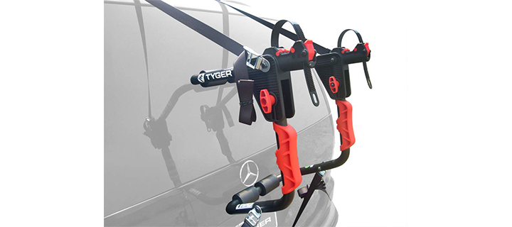 Tyger Auto TG-RK1B204B Deluxe Bicycle Carrier Rack
