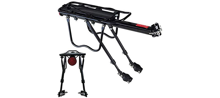 Vilobyc Adjustable Bike Cargo Rack