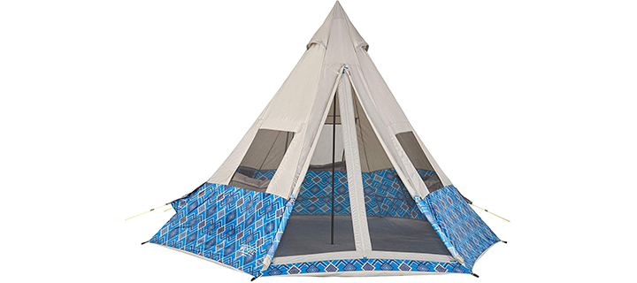 Wenzel Shenanigan 5 Person Teepee Camping Tent