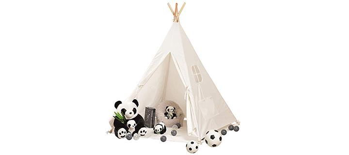 Wilwolfer Teepee Tent for Kids