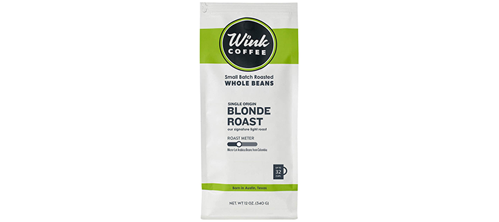 Wink Coffee Blonde Roast Whole Bean Coffee