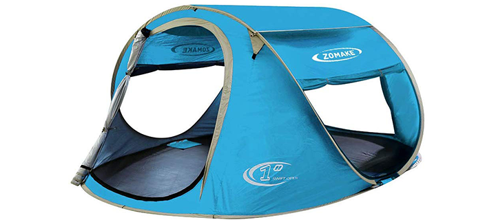 Zomake Pop Up 4 Person Tent