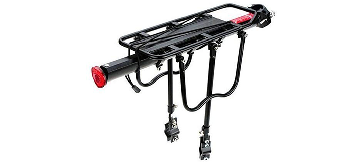comingfit Adjustable Bike Luggage Cargo Rack