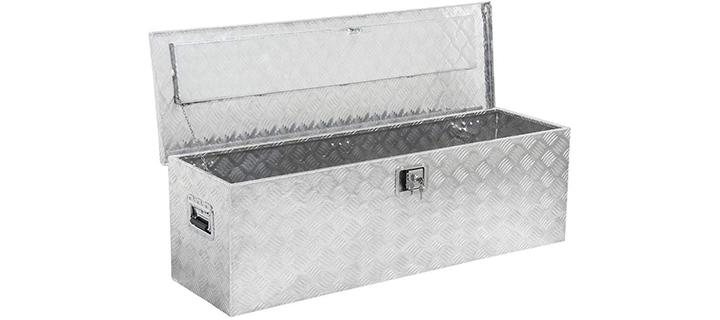 go2buy Rectangular Aluminum Tool Box