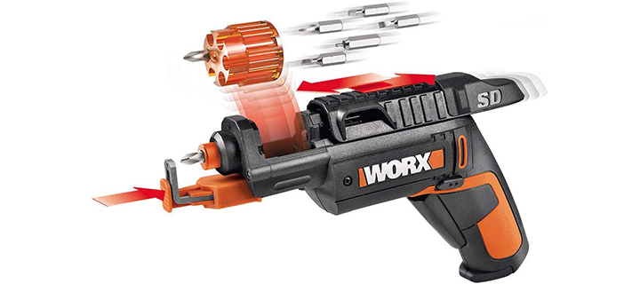sWORX WX255L SD Semi-Automatic Power Screw Drivers